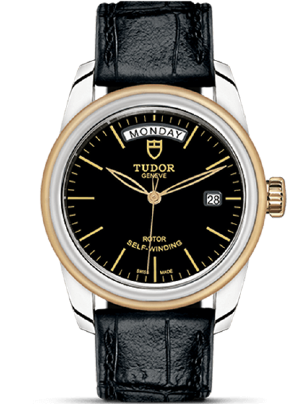 TUDOR GLAMOUR DAY-DATE 39 MM 56003-0024