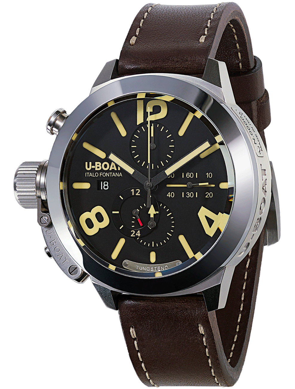 U-BOAT CLASSICO 45 TUNGSTENO MOVELOCK 8075