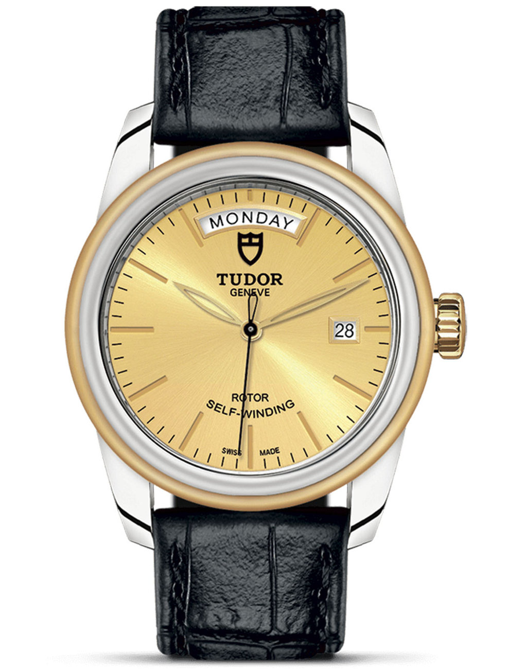 TUDOR GLAMOUR DAY-DATE 39 MM 56003-0004
