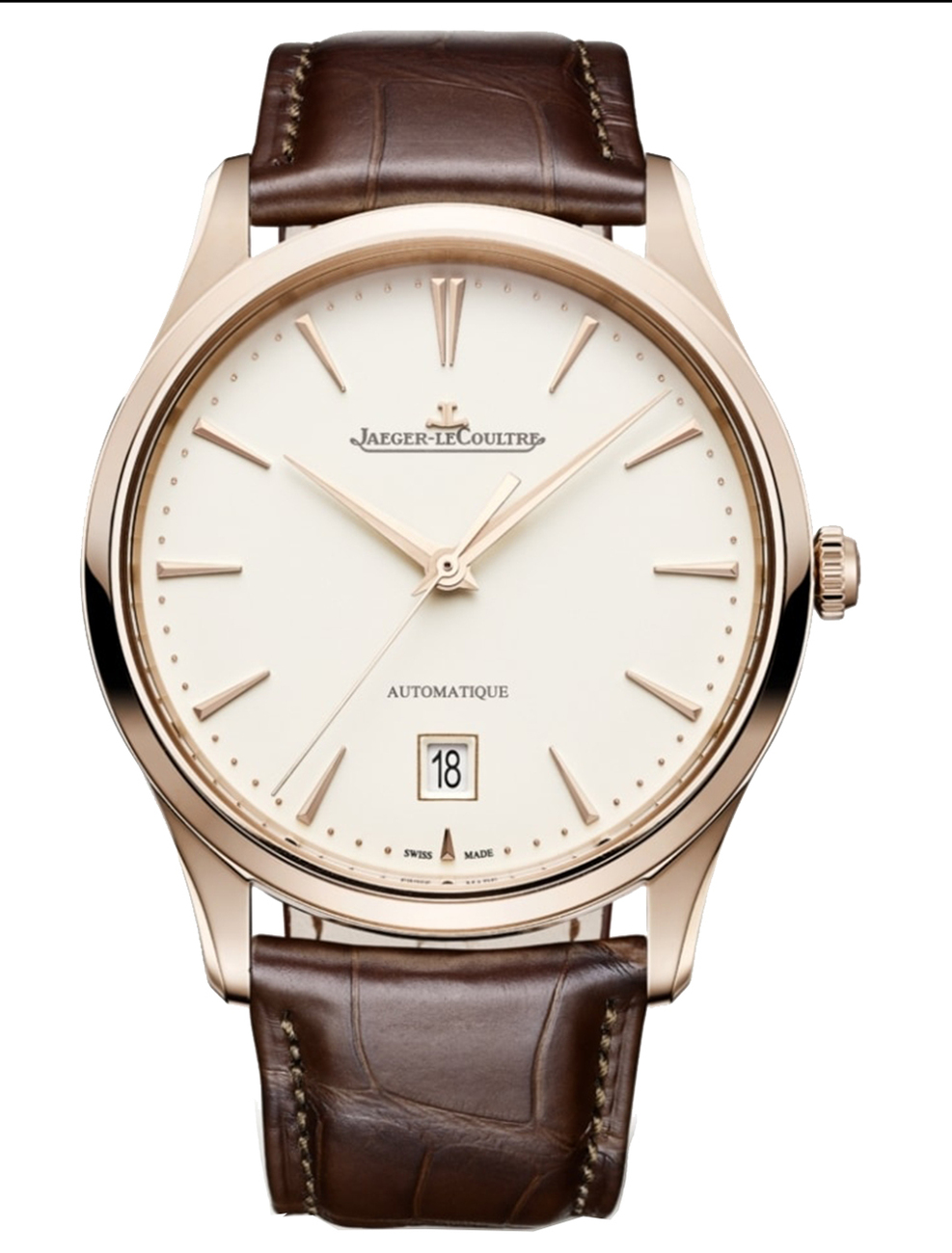 JAEGER LECOULTRE MASTER ULTRA THIN DATE 1232510