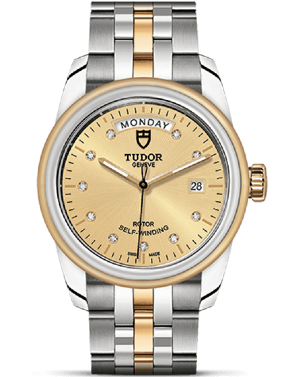 TUDOR GLAMOUR DAY-DATE 39 MM 51003-0003