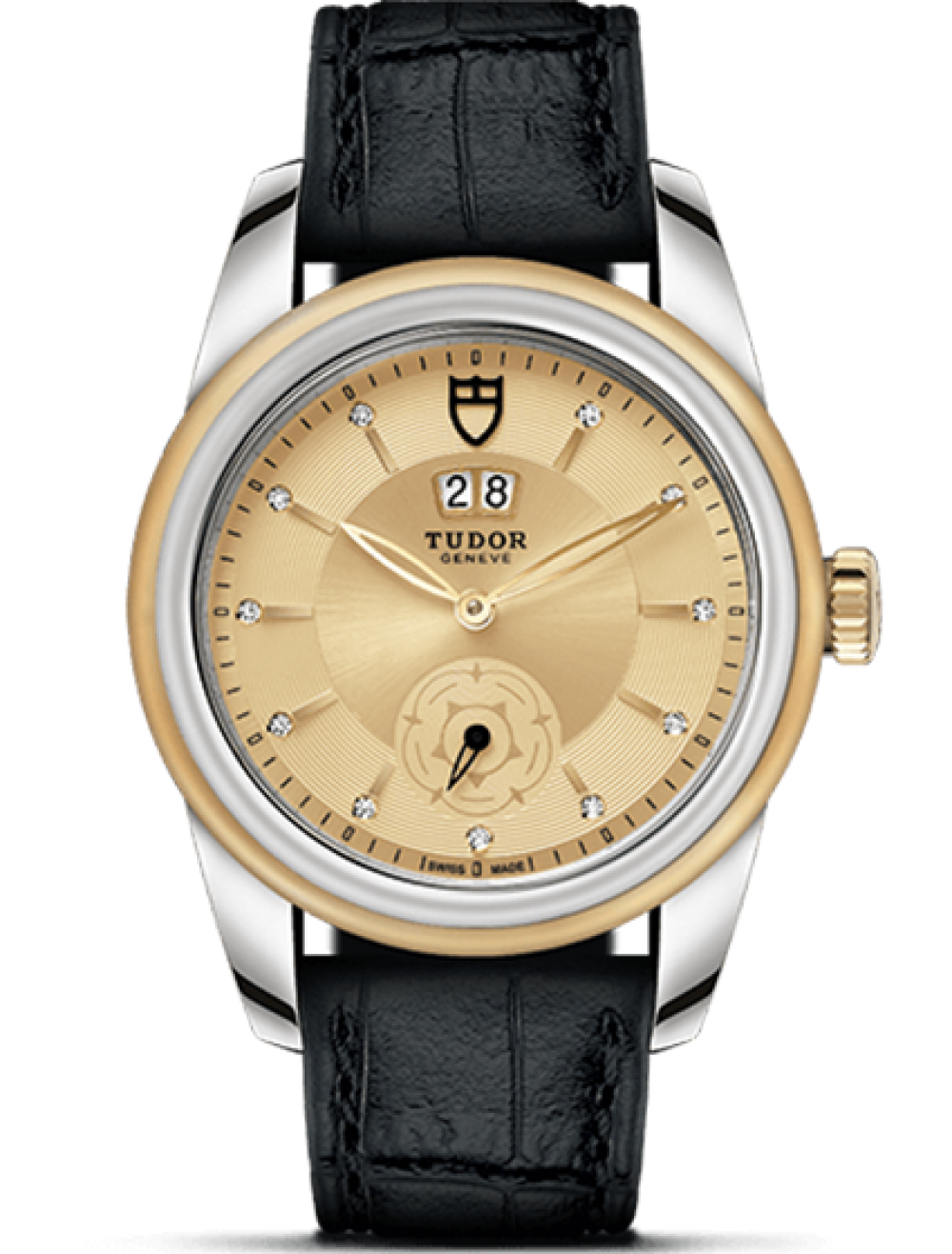 TUDOR GLAMOUR DOUBLE DATE 42 MM 57003-3