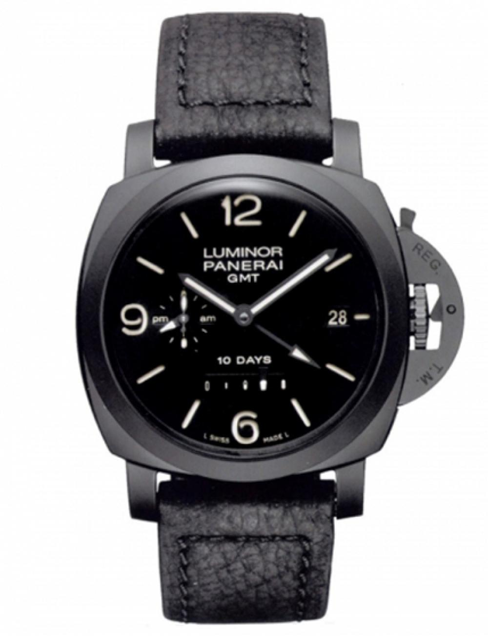 OFFICINE PANERAI LUMINOR 1950 44 MM 10 DAYS GMT PAM00335