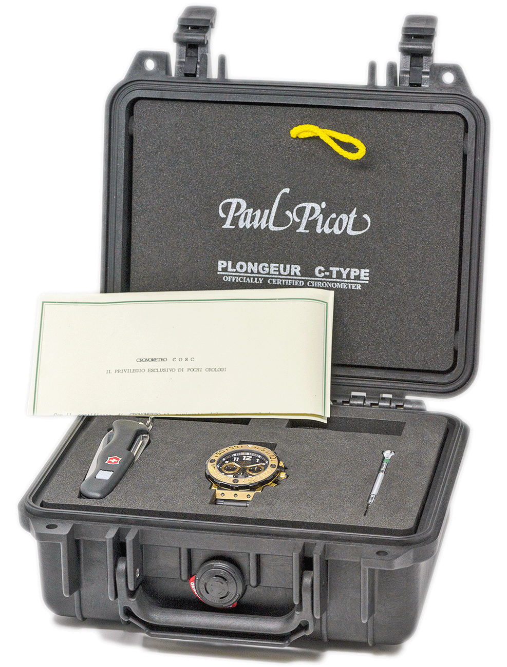 PAUL PICOT TYPE C PROLONGEUR CHRONOGRAPHE P4030.TNGRG.5010.3304